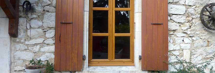 Fenêtres en bois de modèles