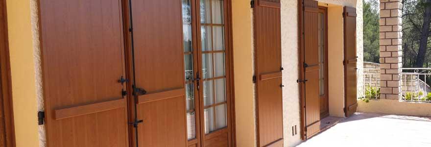 portes-fenêtres en bois
